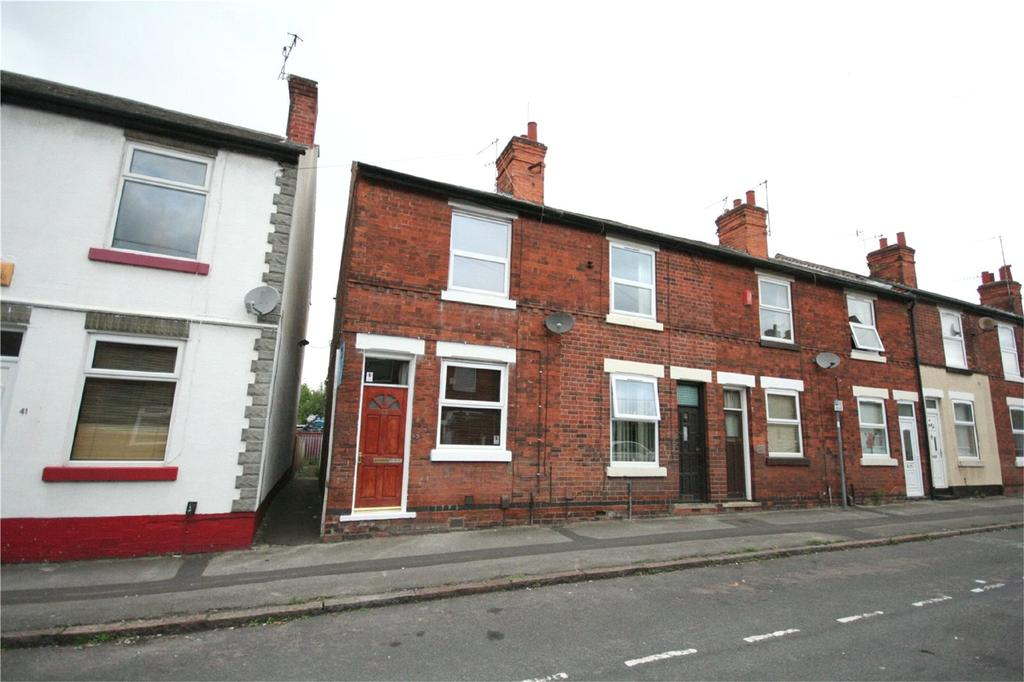 2 Bedrooms End Of Terrace House for sale in Fox Grove, Basford, Nottinghamshire, NG5