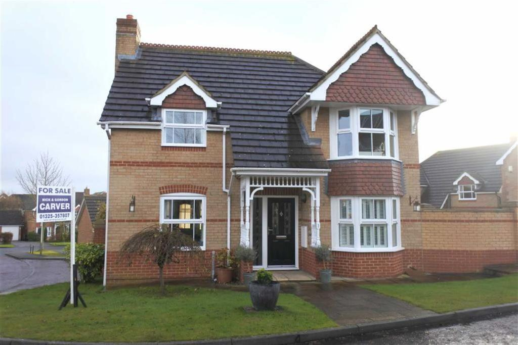 3 Bedrooms Detached House for sale in Chapelhope Close, Ashbrooke, Darlington