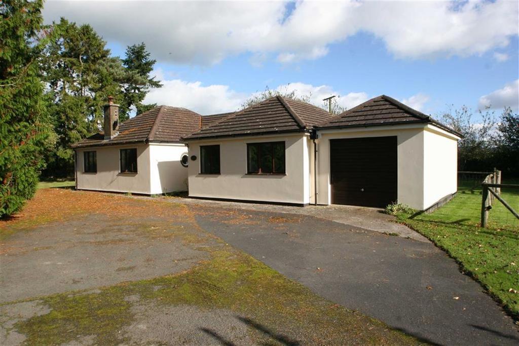 3 Bedrooms Detached Bungalow for sale in WALTON, Presteigne, Powys
