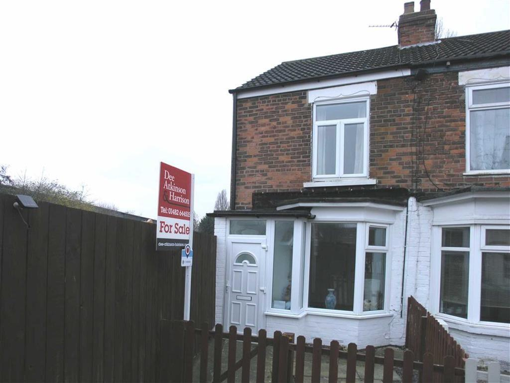 2 Bedrooms End Of Terrace House for sale in Florence Avenue, Hessle