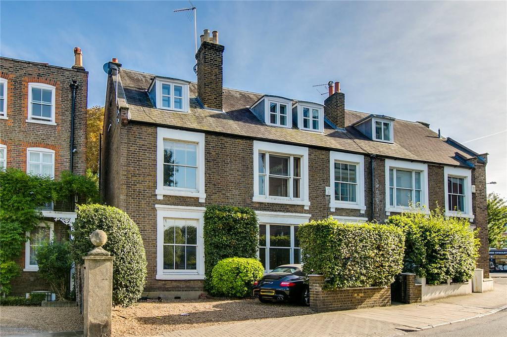 4 Bedrooms Semi Detached House for sale in The Terrace, Barnes, London