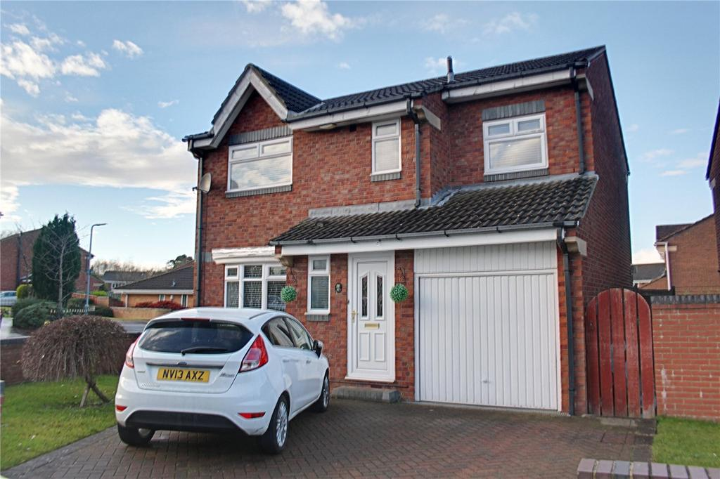 4 Bedrooms Detached House for sale in Woodrush, Coulby Newham
