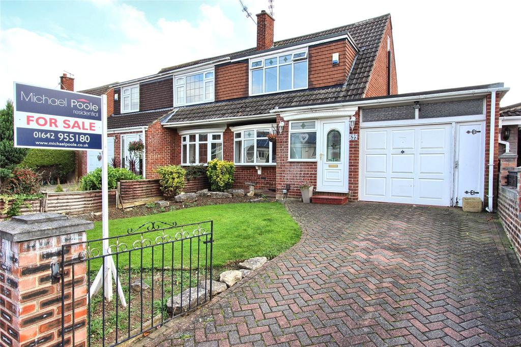 3 Bedrooms Semi Detached House for sale in Guildford Road, Normanby