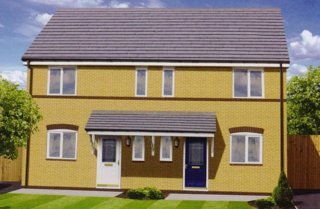2 Bedrooms End Of Terrace House for sale in Walnut Court, Stansty Road, Wrexham