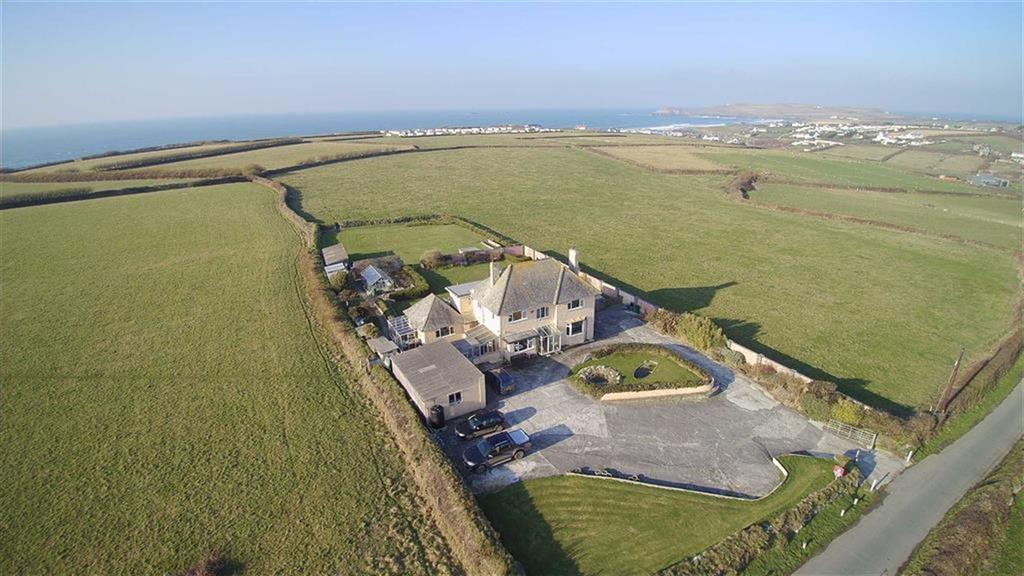 4 Bedrooms Detached House for sale in Trethias, St Merryn, Padstow, Cornwall, PL28
