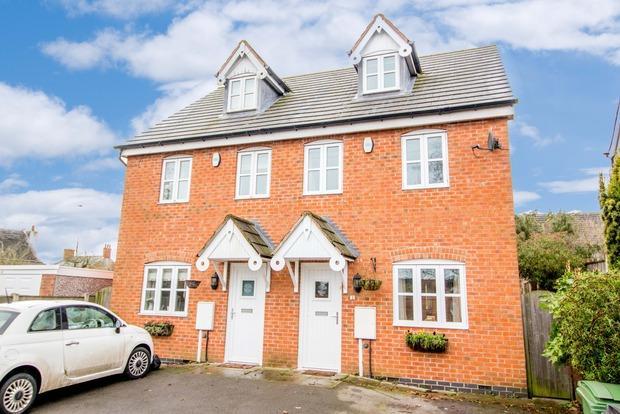 3 Bedrooms Semi Detached House for sale in Berridges Lane, Husbands Bosworth, Lutterworth, LE17