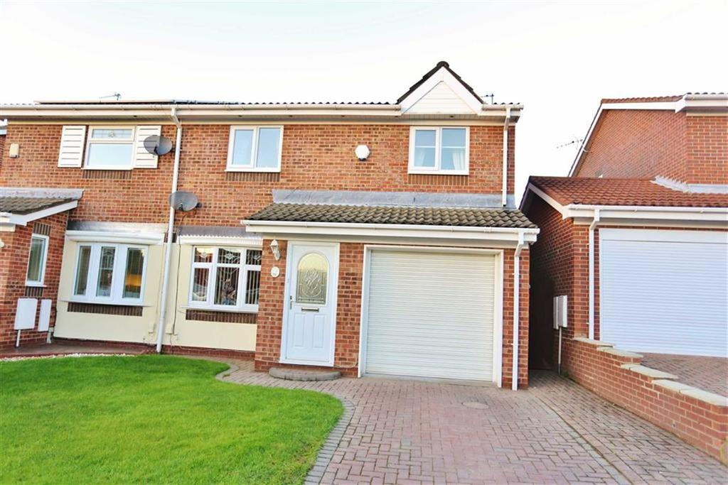 4 Bedrooms Semi Detached House for sale in Woburn Drive, Broadway Grange, Sunderland, SR3