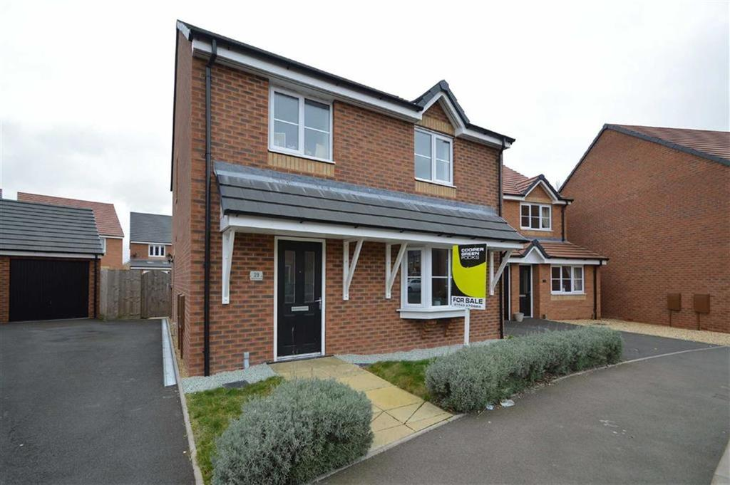 4 Bedrooms Detached House for sale in Woodvine Road, Autumn Brook, Shrewsbury