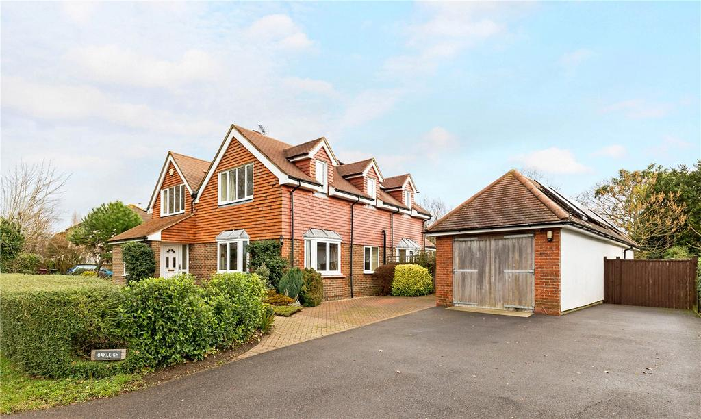 4 Bedrooms Detached House for sale in Drift Lane, Chidham, Chichester, Sussex