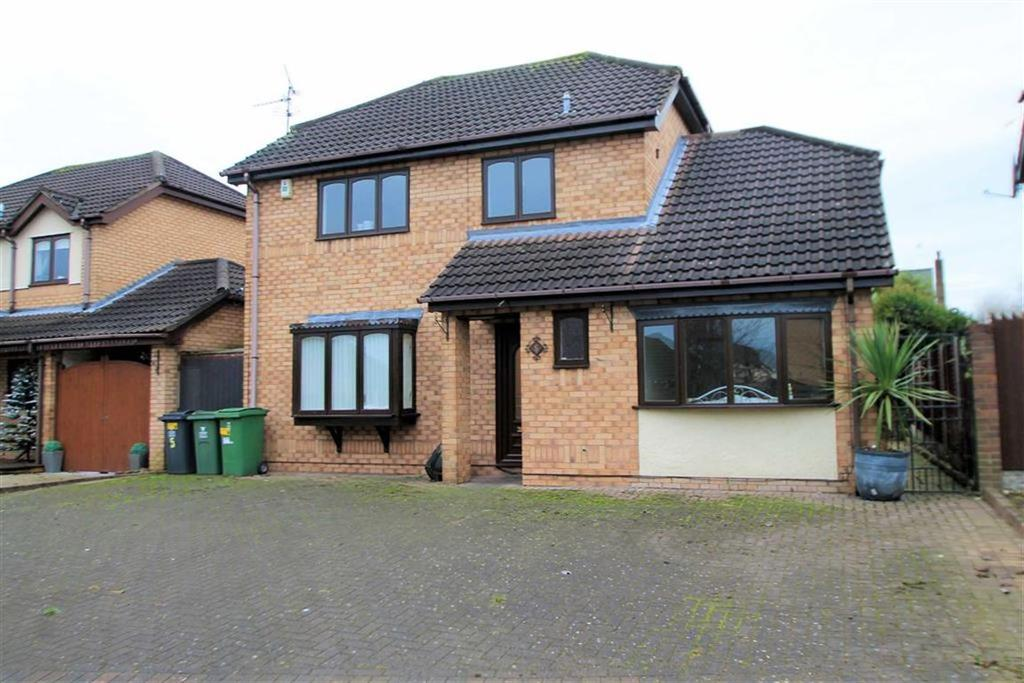 3 Bedrooms Detached House for sale in Moorhead Close, Wrexham