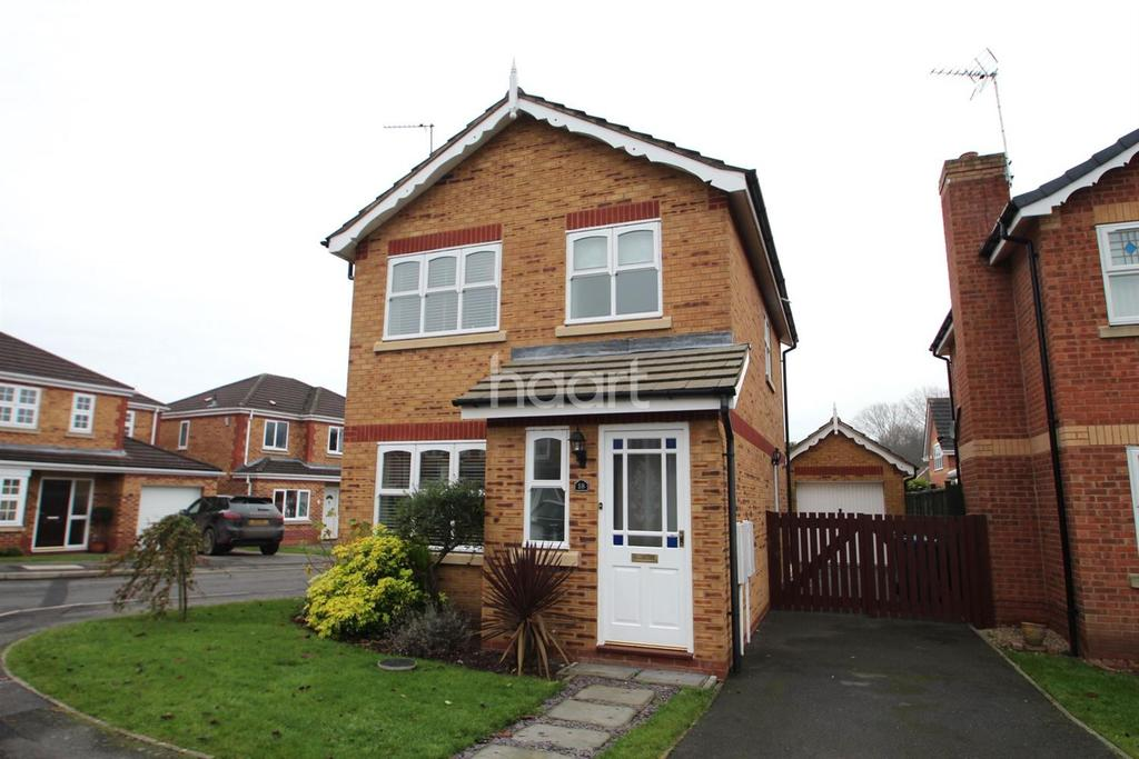 3 Bedrooms Detached House for sale in Ashridge Way, Edwalton, Nottinghamshire