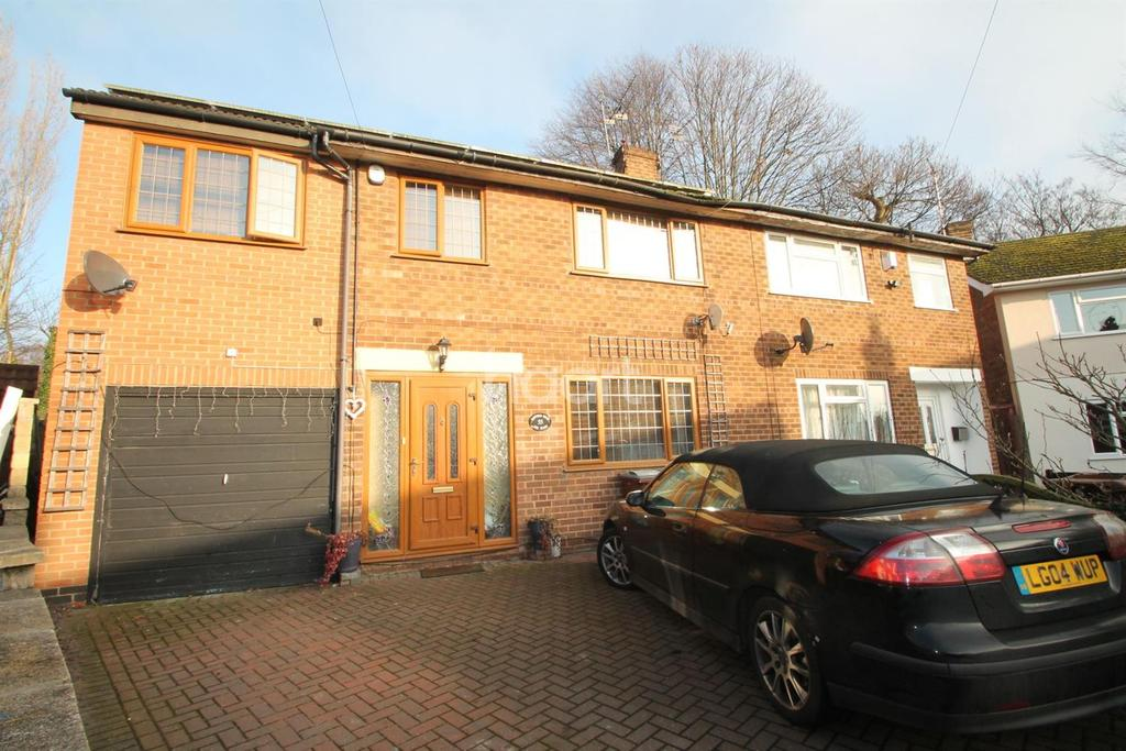 5 Bedrooms Semi Detached House for sale in Rufford Road, Sherwood, Nottingham