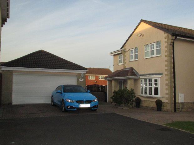 4 Bedrooms Detached House for sale in PINEWOOD CLOSE, CLAVERING, HARTLEPOOL