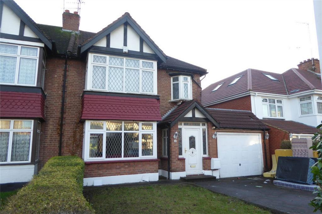 4 Bedrooms Semi Detached House for sale in Kingsway, Wembley, Greater London