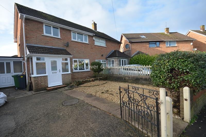 3 Bedrooms Semi Detached House for sale in Weston Road, Llanrumney, Cardiff, Cardiff. CF3