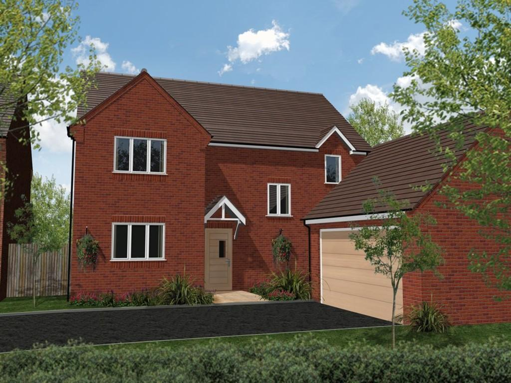 4 Bedrooms Detached House for sale in Plot 6 Wellington Gardens, Bidford On Avon