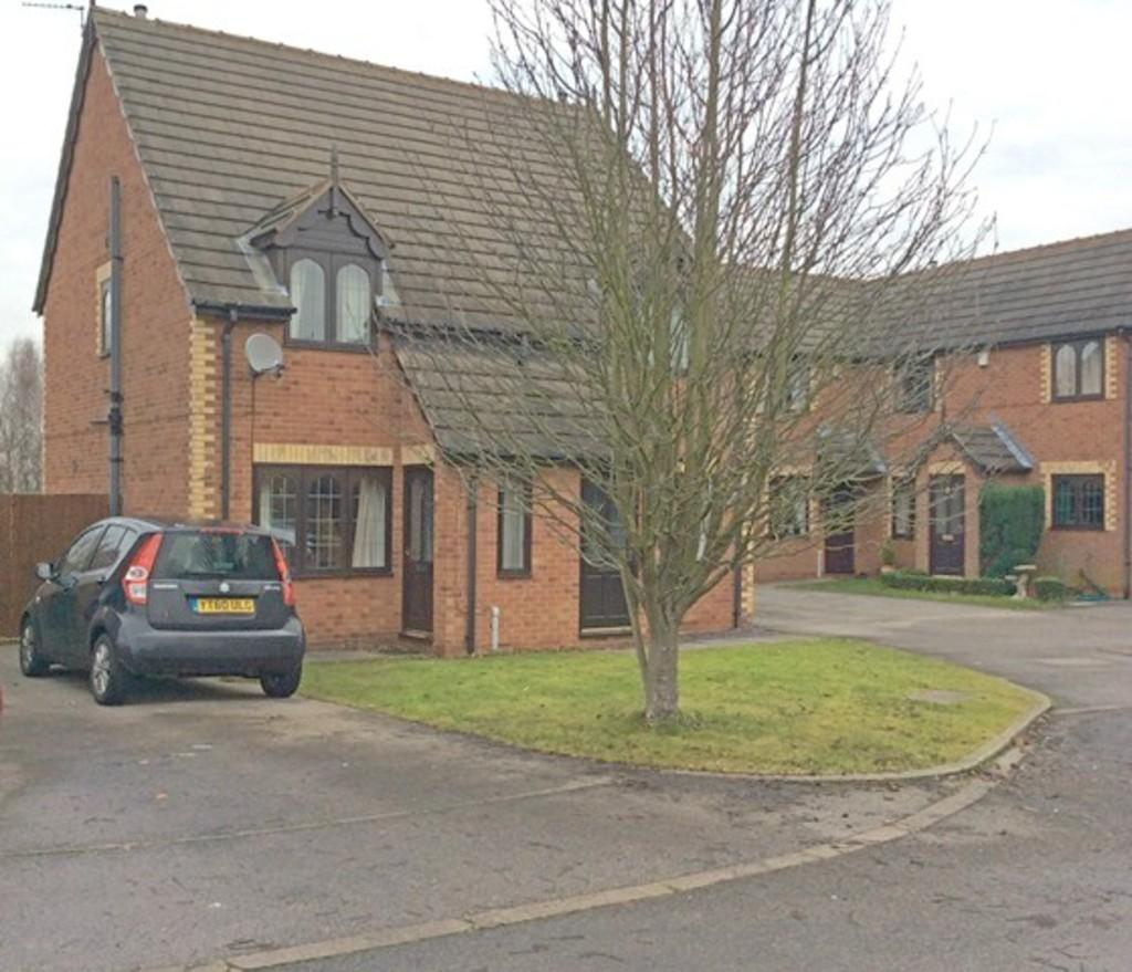 2 Bedrooms Semi Detached House for sale in Farfield Close, Edencroft