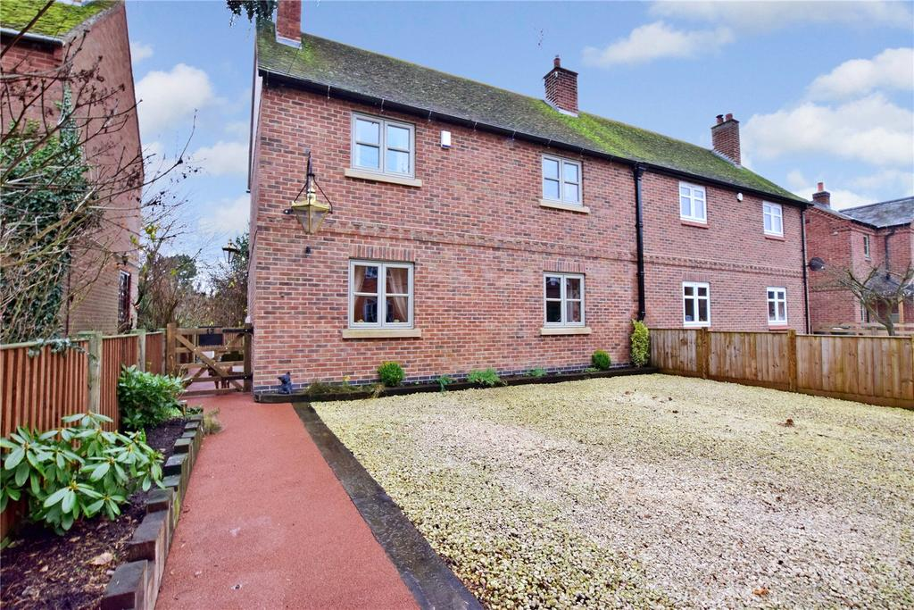 3 Bedrooms Semi Detached House for sale in Church Lane, Ratcliffe on the Wreake, Leicester