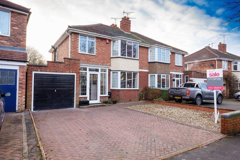 3 Bedrooms Semi Detached House for sale in Uplands Avenue, Finchfield, Wolverhampton