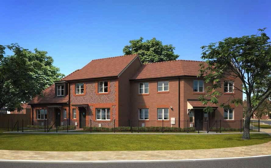 2 Bedrooms End Of Terrace House for sale in The Bracklesham, Shopwhyke Road, Chichester, West Sussex, PO20