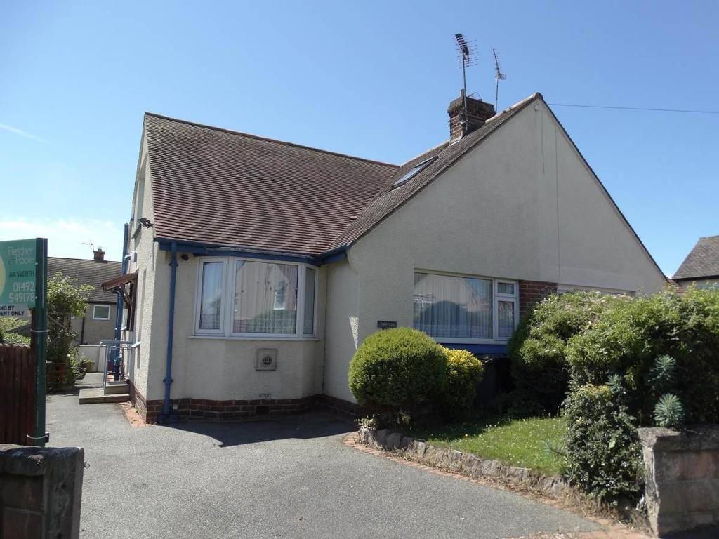2 Bedrooms Semi Detached House for sale in 12 Garden Drive, Penrhyn Bay, LL30 3LL