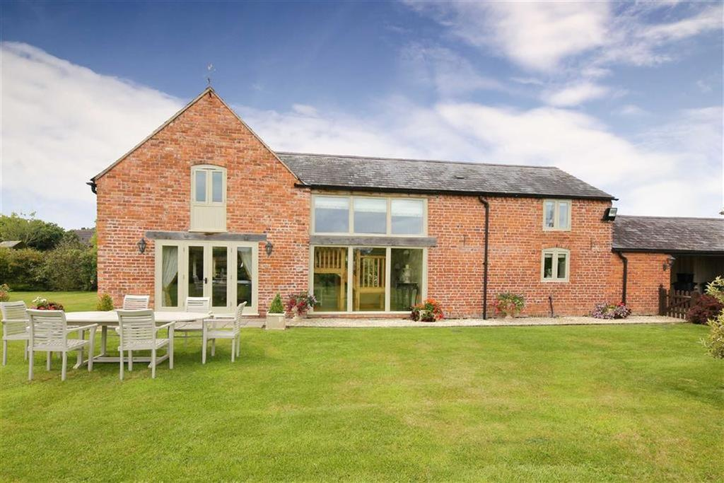 4 Bedrooms Barn Conversion Character Property for sale in Bagley, Nr Ellesmere, SY12