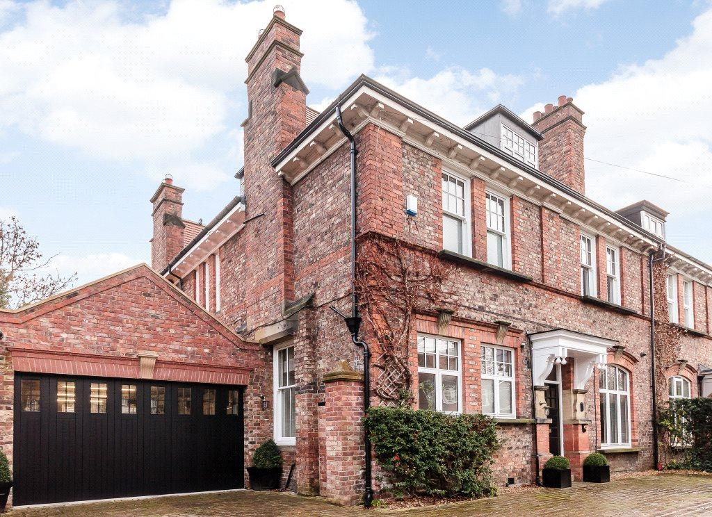 6 Bedrooms Semi Detached House for sale in The Grove, Gosforth, Newcastle Upon Tyne, Tyne And Wear