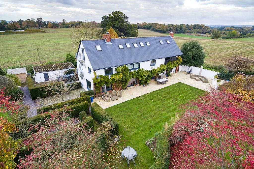 5 Bedrooms Detached House for sale in Highfield Lane, Thursley, Godalming, Surrey