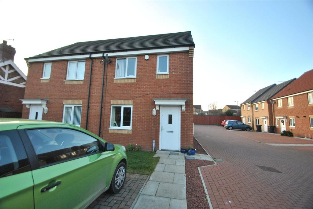 2 Bedrooms Semi Detached House for sale in Mariners Way, Seaham, Co Durham, SR7