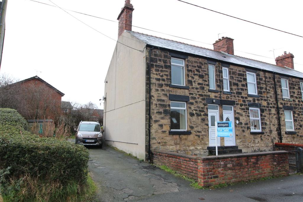 2 Bedrooms End Of Terrace House for sale in Waen Road, Coedpoeth, Wrexham, LL11
