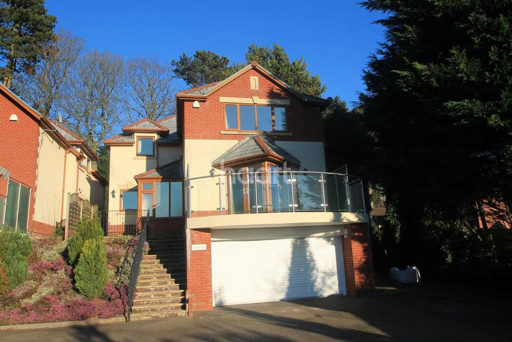 4 Bedrooms Detached House for sale in Pembroke House, Manor Road, Risca,
