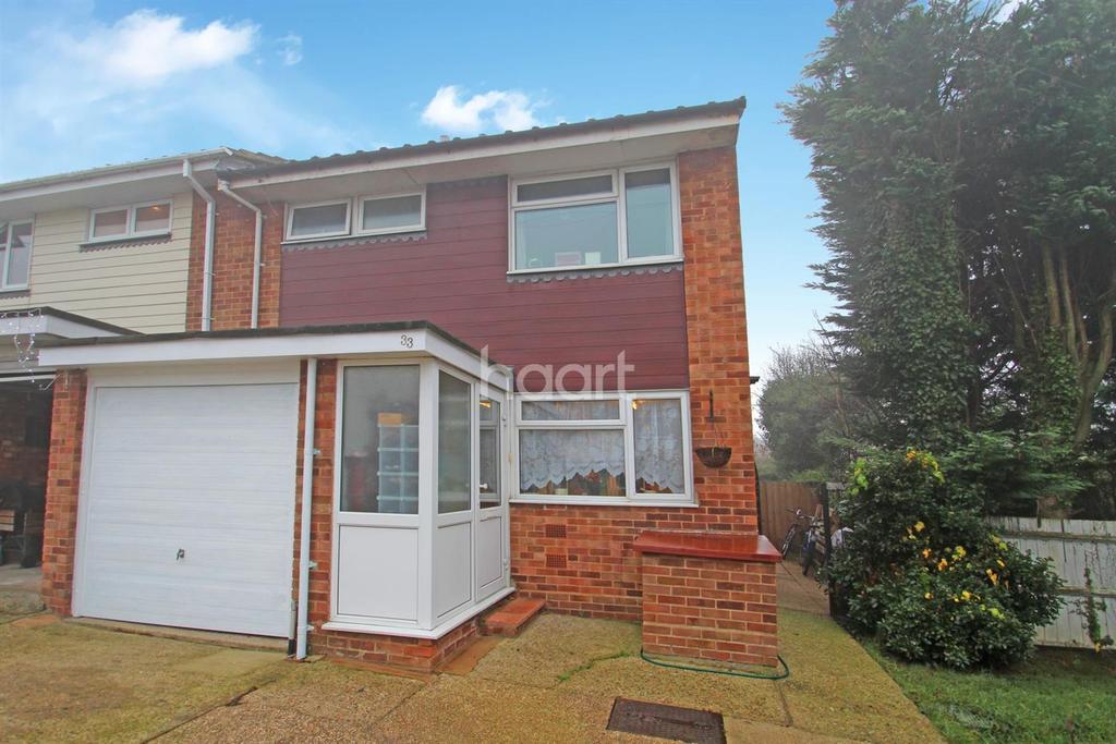 3 Bedrooms Semi Detached House for sale in Firfield Road, Benfleet