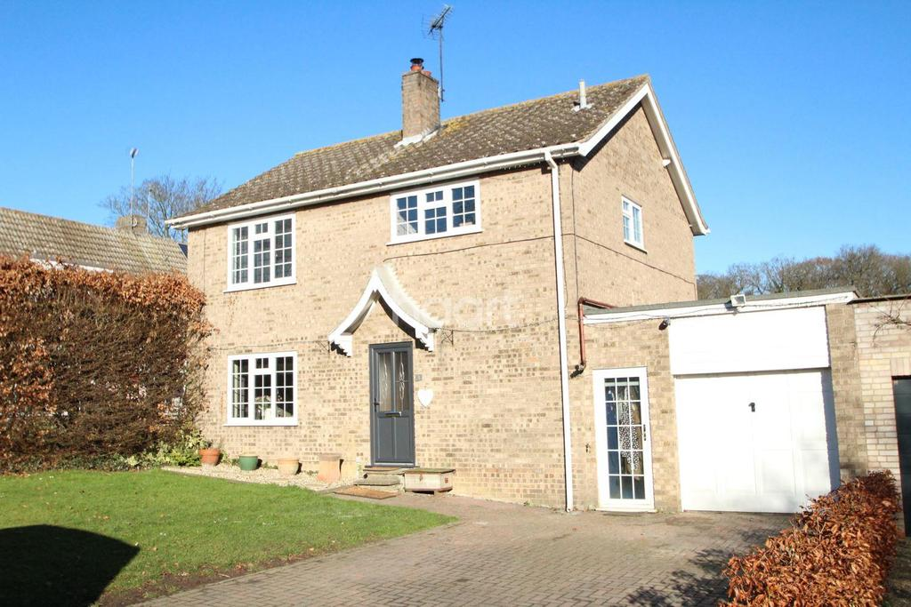 4 Bedrooms Detached House for sale in The Elms, Horringer, Bury St Edmunds, Suffolk