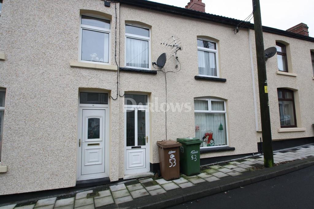 3 Bedrooms Terraced House for sale in Derlwyn Street, New Tredegar
