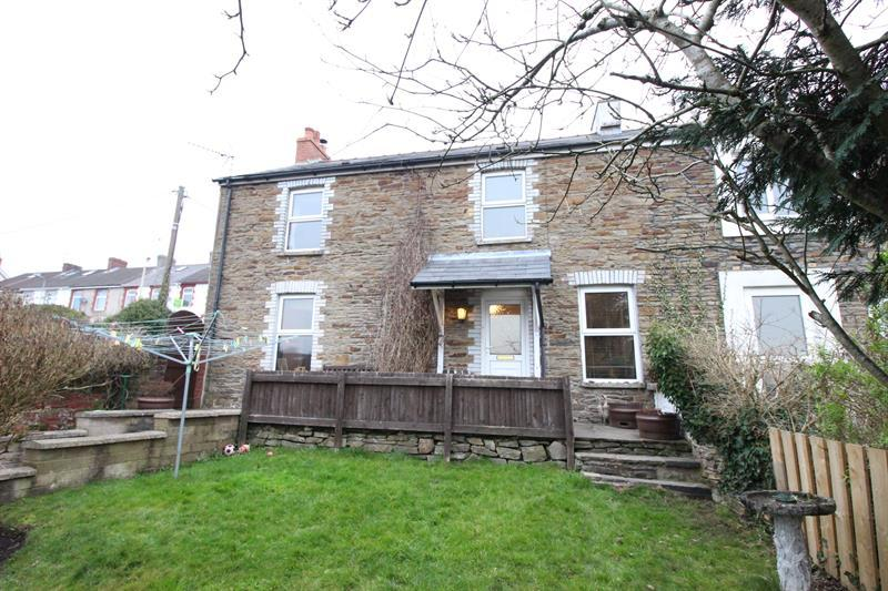 3 Bedrooms Semi Detached House for sale in Alma Street, Caerphilly