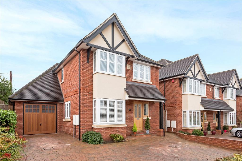 4 Bedrooms Detached House for sale in Cromwell Road, Ascot, Berkshire, SL5