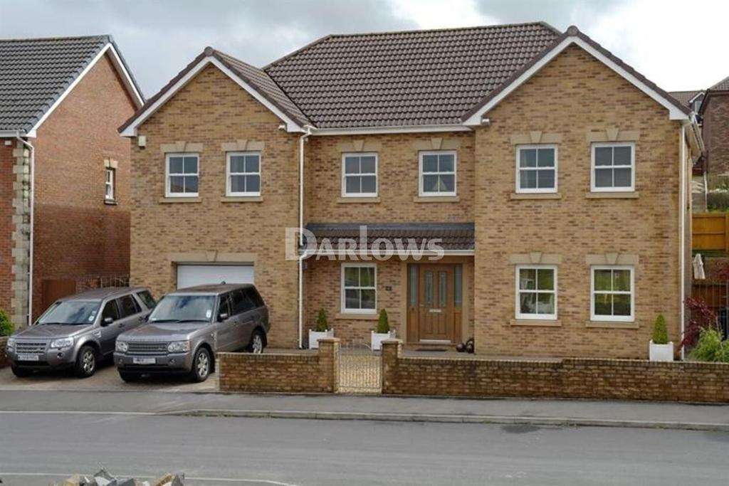 6 Bedrooms Detached House for sale in Clos Cribyn, Merthyr Tydfil