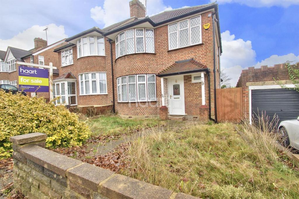 3 Bedrooms Semi Detached House for sale in Oak Way, Southgate, N14