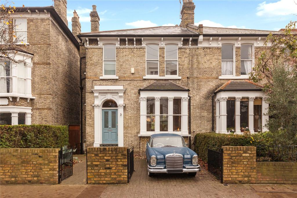 5 Bedrooms Semi Detached House for sale in Mercers Road, Tufnell Park, London
