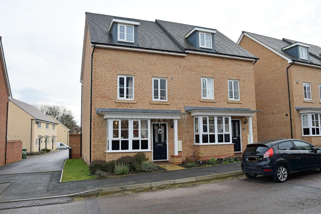 4 Bedrooms Semi Detached House for sale in Summers Hill Drive, Papworth Everard, Cambridgeshire, CB23 3AA
