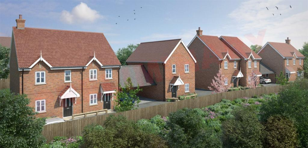 2 Bedrooms Semi Detached House for sale in Burntwood Gardens, Westwood Avenue, Brentwood, Essex, CM14