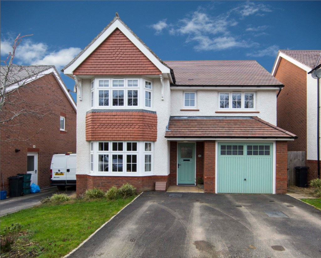 4 Bedrooms Detached House for sale in Highfield Rise, Manor View, Trelewis, CF46 6EQ