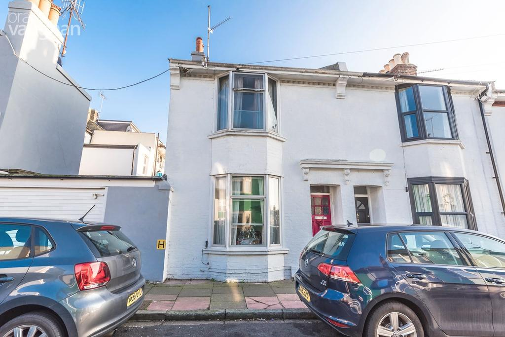 2 Bedrooms End Of Terrace House for sale in Lincoln Street, Brighton, BN2