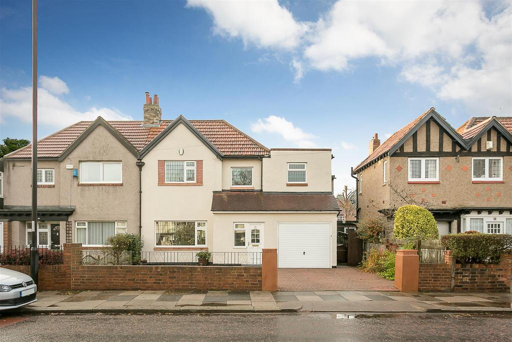 4 Bedrooms Semi Detached House for sale in Kenton Road, Gosforth, Newcastle upon Tyne