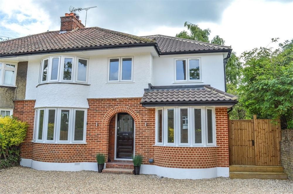 4 Bedrooms Semi Detached House for sale in Hillside Avenue, BISHOP'S STORTFORD, Hertfordshire