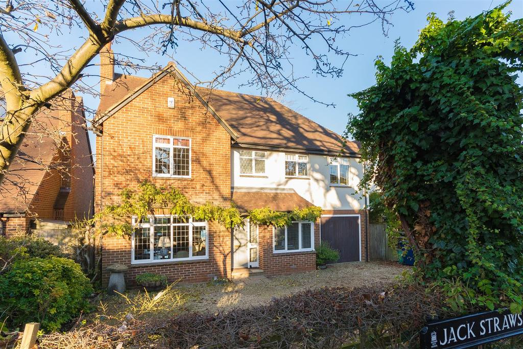 4 Bedrooms Detached House for sale in Jack Straws Lane, Headington