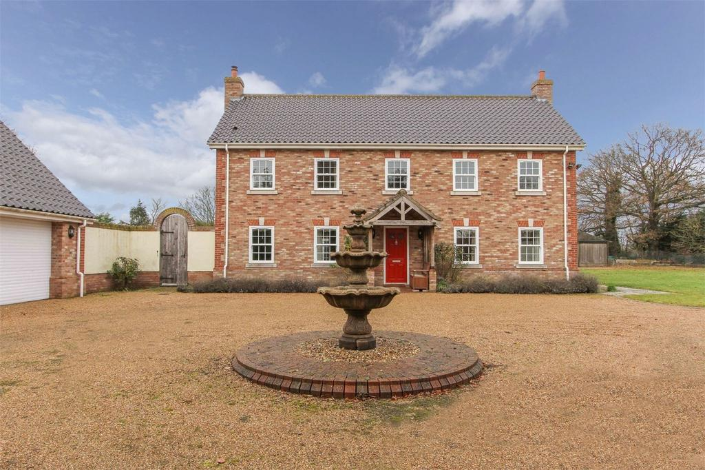5 Bedrooms Detached House for sale in Grange, Heath Road, Banham, Norfolk