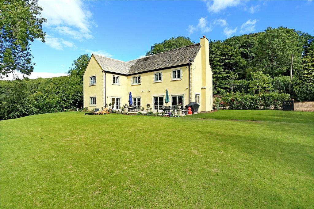 4 Bedrooms Detached House for sale in Bagpath, Tetbury, Gloucestershire