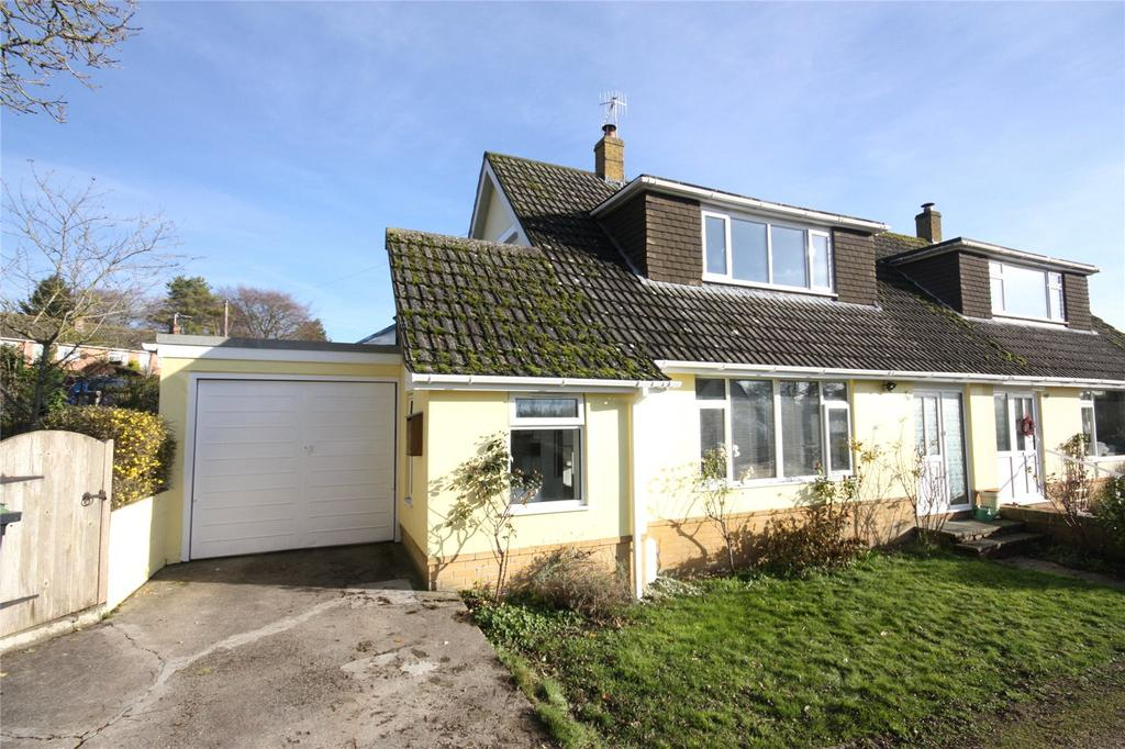 3 Bedrooms Semi Detached Bungalow for sale in Portman Road, Pimperne, Blandford Forum, Dorset