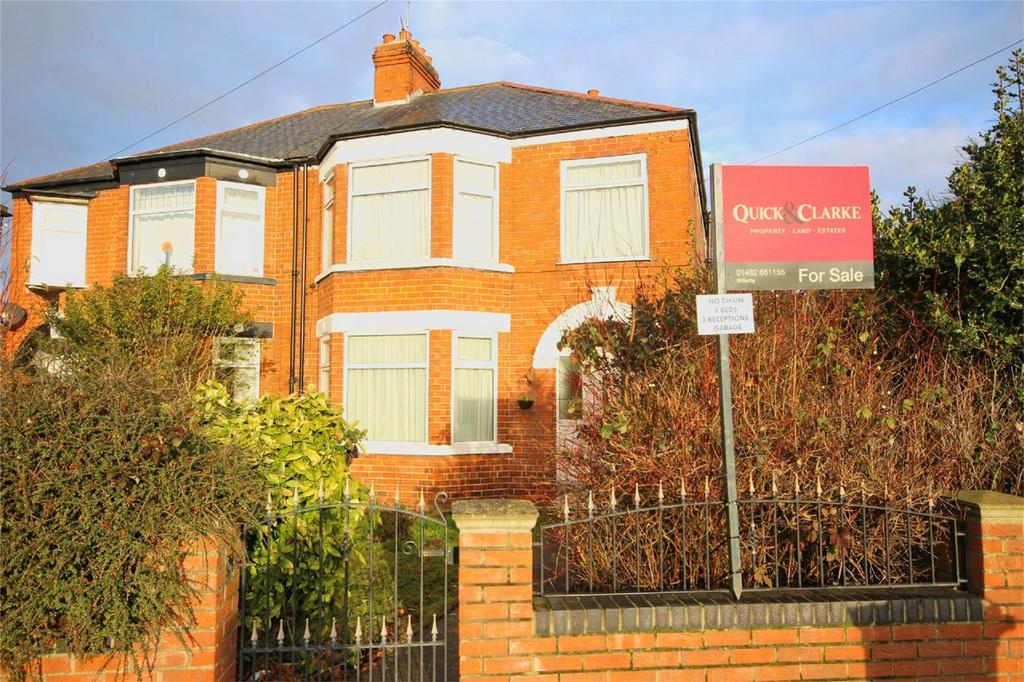 3 Bedrooms Semi Detached House for sale in Willerby Road, Hull, East Riding of Yorkshire